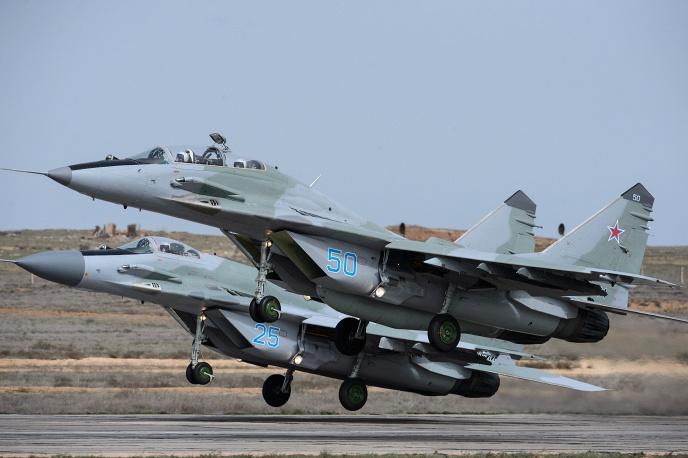 ruski MiG-29UBR 50 i SMTR 25 1