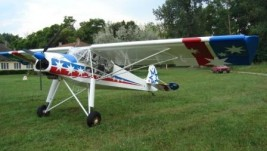 Prinudno vanaerodromsko sletanje aviona Šlepčev Storch blizu Šapca