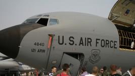 Obilazak leteće cisterne Boeing KC-135R