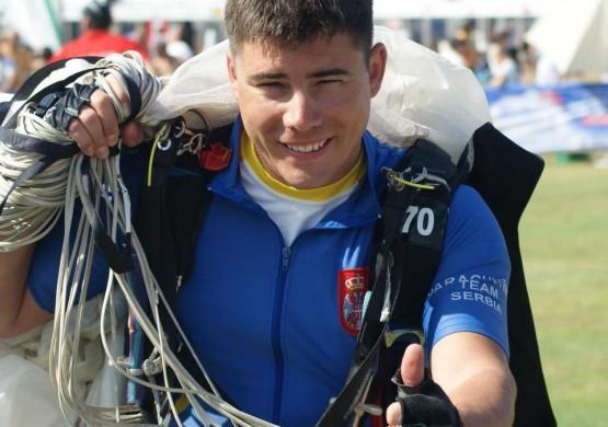 Podvig Aleksandra Cvetkovića – najbolji plasman u istoriji srpskog sportskog padobranstva