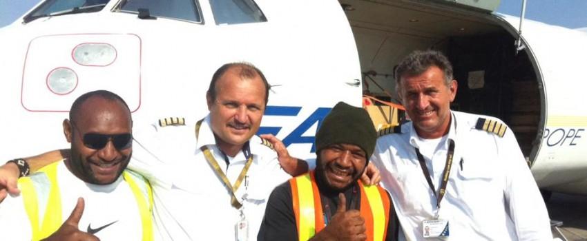 Srpsko letenje iznad Papue – video izveštaj