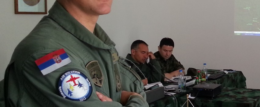 General Bandić detaljnije o vežbi Air Solution 2013