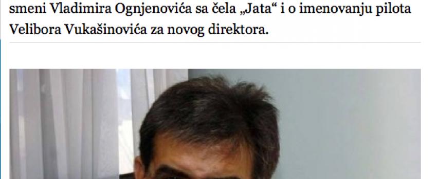 Novi direktor Jata napravio gaf, intervju u Blicu drastično izmenjen, u Etihadu iznenađeni