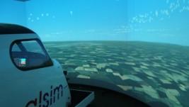 Alsim ALX simulator: jedan sintetički krug ispod vršačkog brega