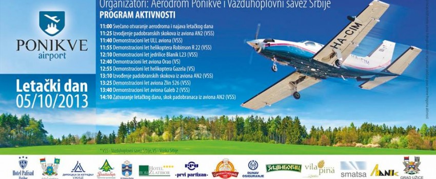 Otvaranje aerodroma Ponikve za civilni saobraćaj