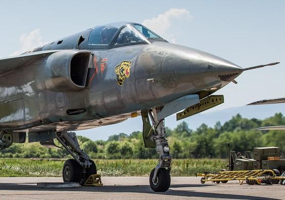 Srušio se Orao Vojske Srbije blizu Čačka, pilot nepovređen