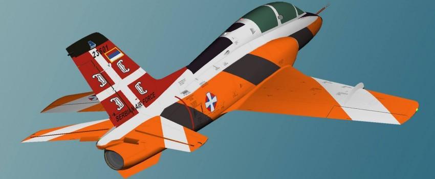 Nova šema bojenja za remontovani TG-4 – tegljač vazdušne mete