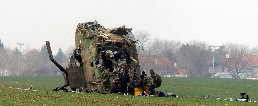 Izveštaji vojnih komisija o udesu helikoptera Mi-17