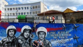 U Užicu nacrtan grafit posvećen pilotima herojima 1999. godine