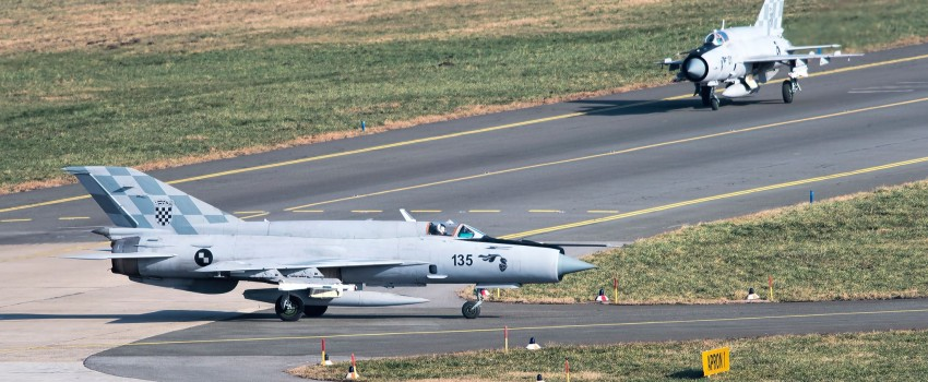 Hrvatska kompletirala eskadrilu borbenih aviona