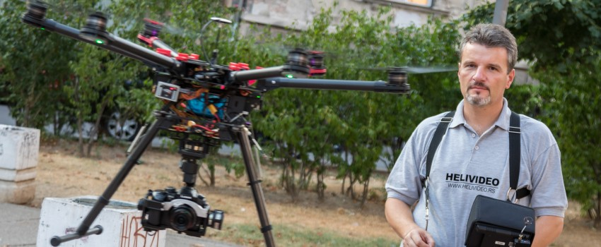 Video intervju: Šta najiskusniji operater dronova u Srbiji misli o prvom pokušaju regulacije DCV-a