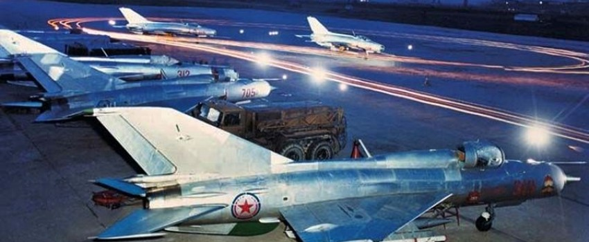 Vazduhoplovne snage i PVO Severne Koreje