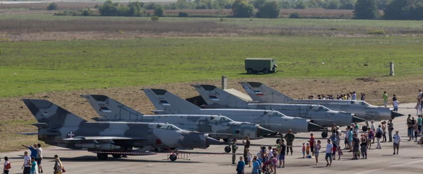 Otvoreni dan Batajnica 2015: Najzanimljivija statika MiG-ova 21 do sada