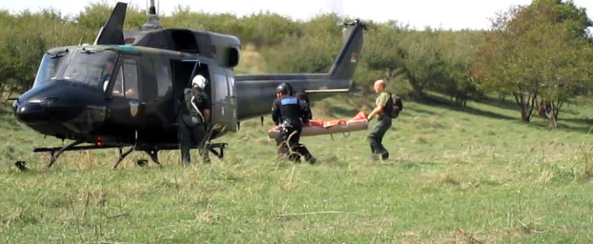 DCV i Helikopterska jedinica MUP-a izveli vežbu traganja i spasavanja