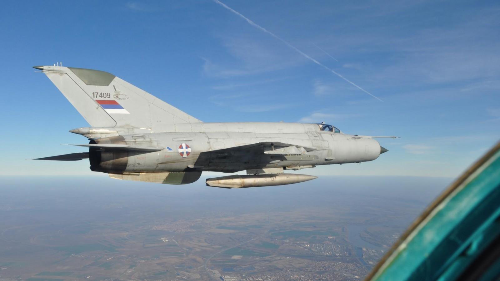 Istorija domaće upotrebe lovca-presretača MiG-21