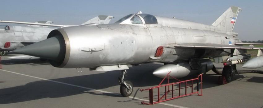 MiG-21M 22823 – poslednji supersonični izviđač u Srbiji
