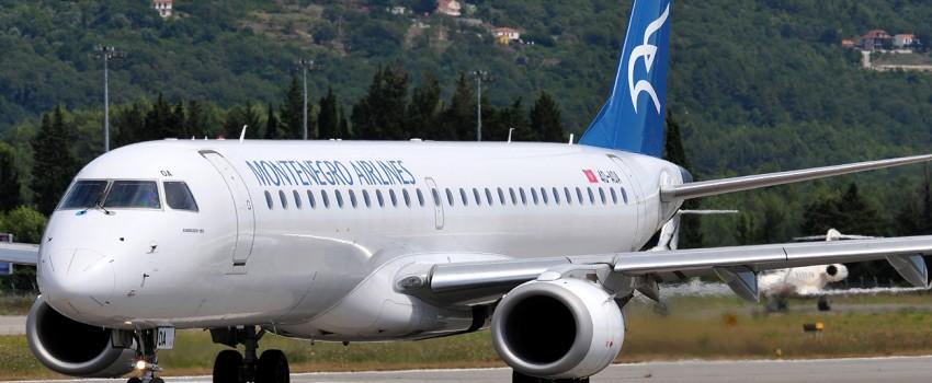 Montenegro erlajns opslužio više od 30 hiljada putnika za deset dana turističke sezone