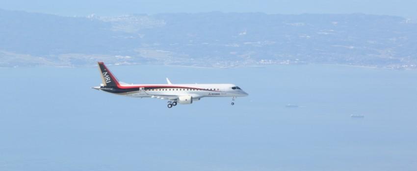 """Još jedan regionalac na nebu: Uspešan prvi let """"Mitsubishi Regional Jeta"""""""