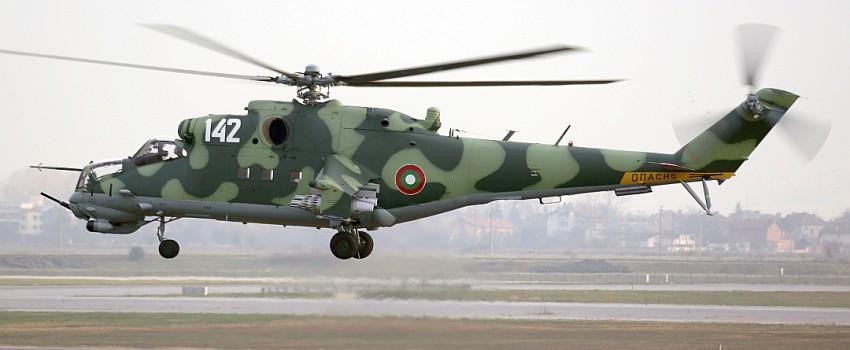 Bugarska remontovala helikopter Mi-24