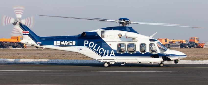 Foto reportaža: Još jedan novi helikopter sleteo u Zagreb