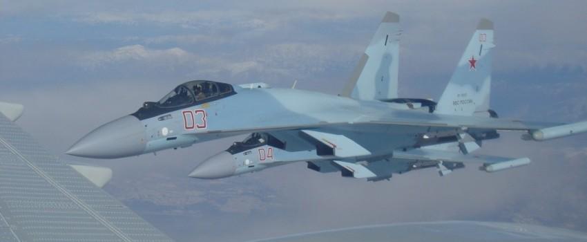 Su-35S stigli u Siriju