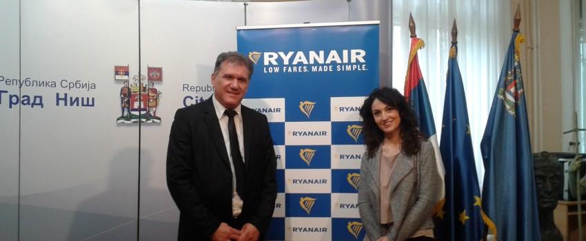 """""""Ryanair"""" u Nišu: Nikad ne bismo došli u Beograd"""