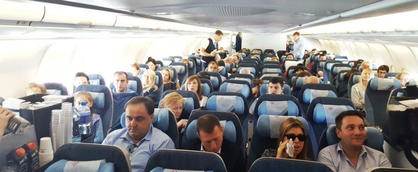 Tango Six uživo iznad Atlantika: Prve fotografije sa prvog leta JU500 do Njujorka