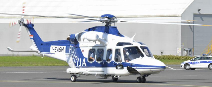 Hrvatski MUP primio na upotrebu još jedan helikopter AW139