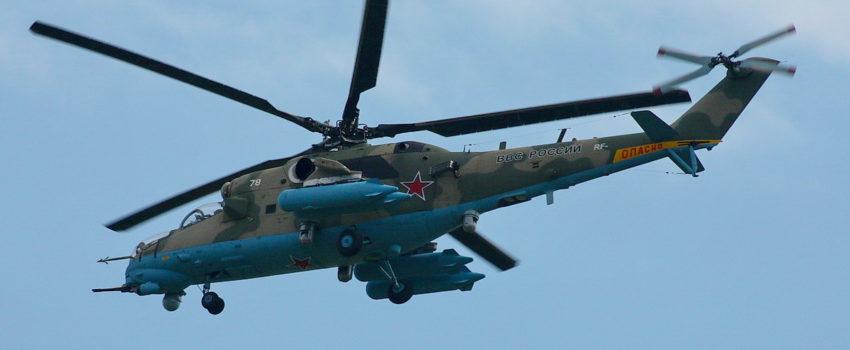 Ko je oborio ruski helikopter Mi-24 iznad Sirije?