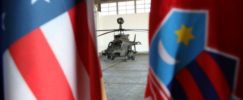 "Hrvatska zvanično prikazala helikoptere OH-58D ""Kiowa Warrior"""