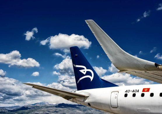 Montenegro airlines nabavlja Embraer E195 do travnja (aprila) 2020