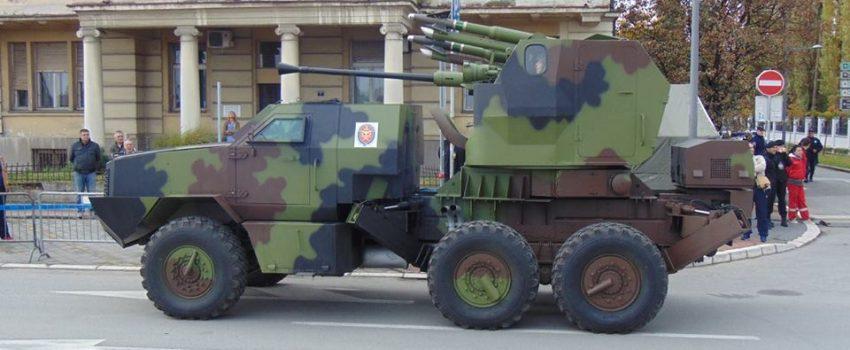 PASARS-16, idejni projekat srpskog protivvazduhoplovnog artiljerijsko-raketnog sistema