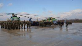 Makedonija remontovala dva vojna helikoptera Mi-17