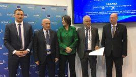 Uručena nagrada za projekat 24-časovnog planiranja i sprovođenja letova iznad četiri zemlje