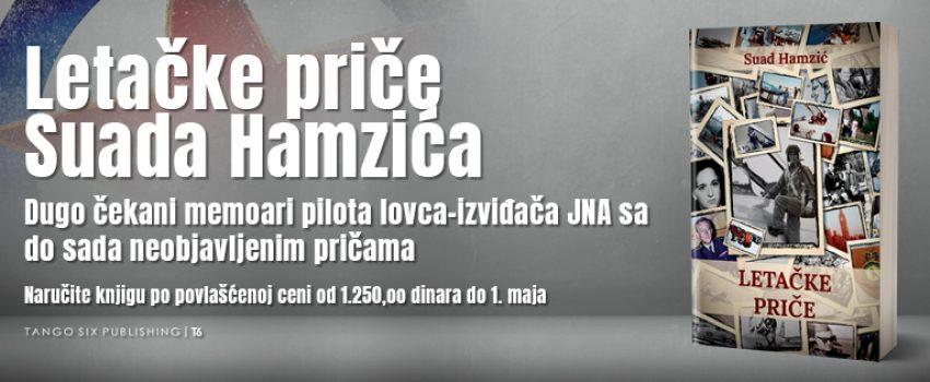 """[NAJVAŽNIJA VEST OVE GODINE] Knjiga Suada Hamzića """"Letačke priče"""" uskoro u prodaji – rezervišite vaš primerak na vreme!"""