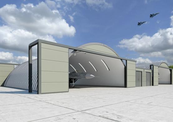 Ovako će izgledati novi hangari dežurne pare na aerodromu Batajnica