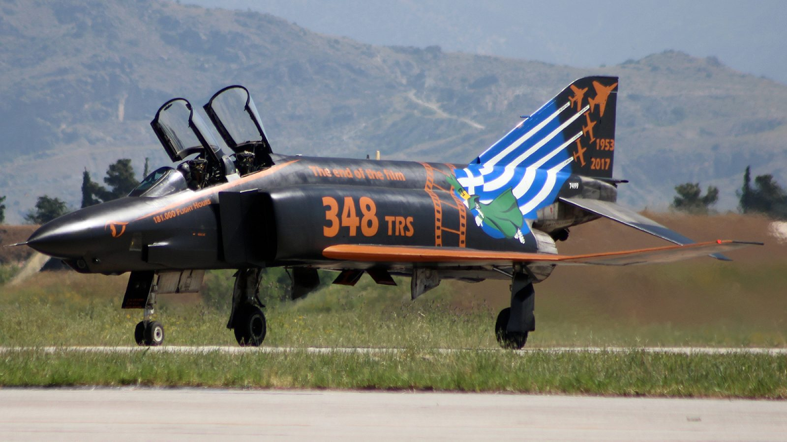 [FOTO REPORTAŽA] Kraj jedne ere: Grčka povukla iz naoružanja izviđačke avione RF-4E