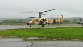 Prvi strani korisnik borbenog helikoptera Ka-52 je Egipat