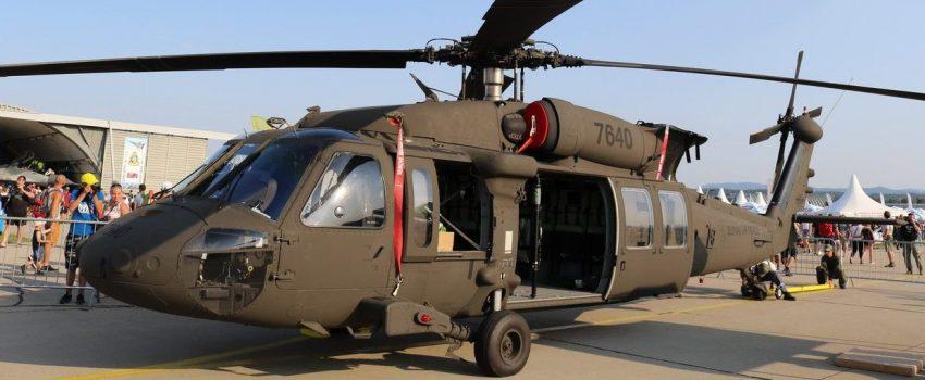 "Tango Six na SIAF 2017: Slovačka prvi put javno prikazala helikoptere UH-60M ""Black Hawk"""