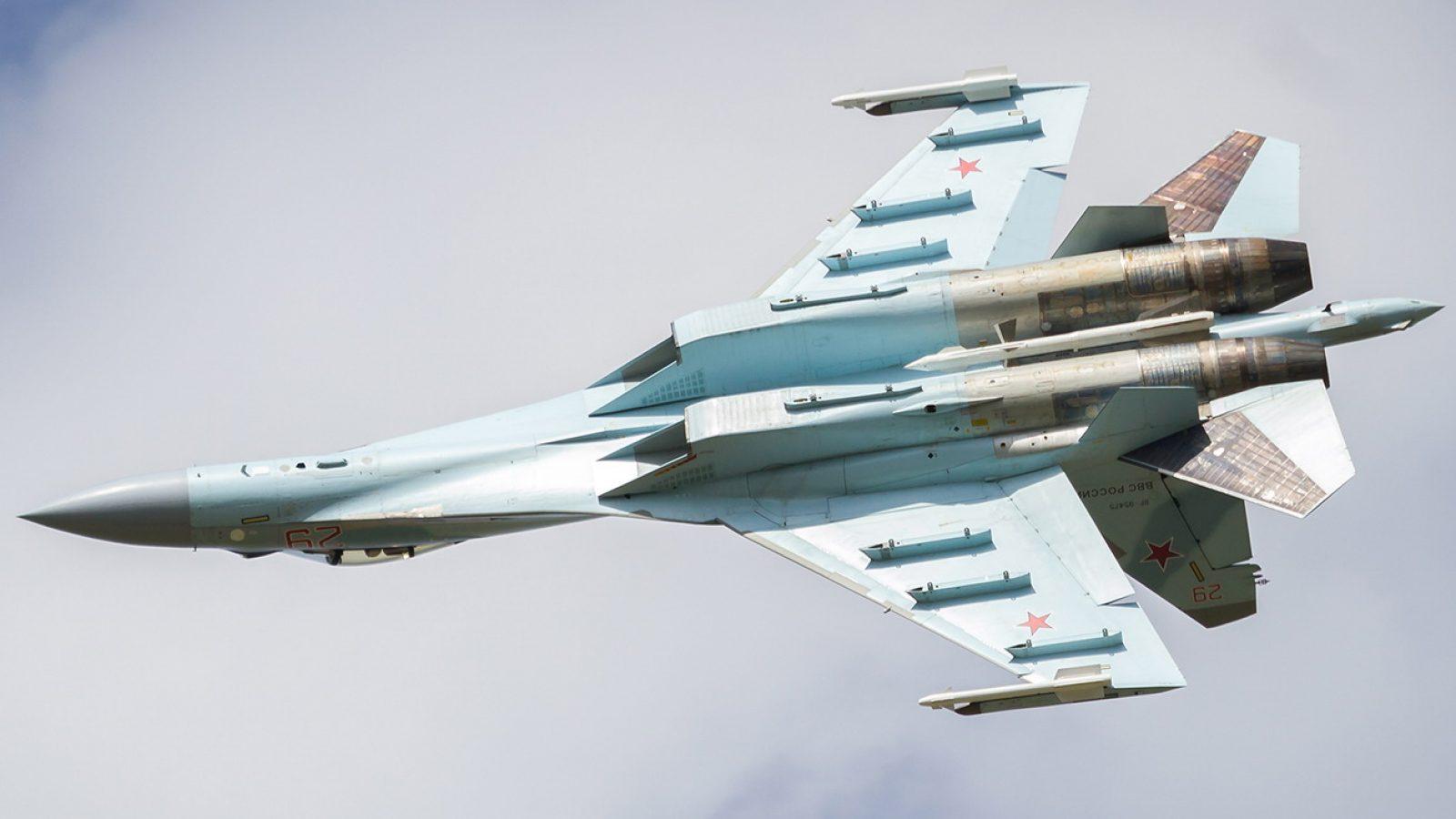 """Poslednji """"Flanker"""": Su-35S, ruski nebeski musketar"""