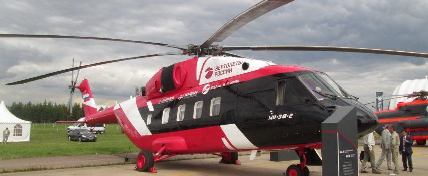 Novi ruski srednji višenamenski helikopter Mi-38