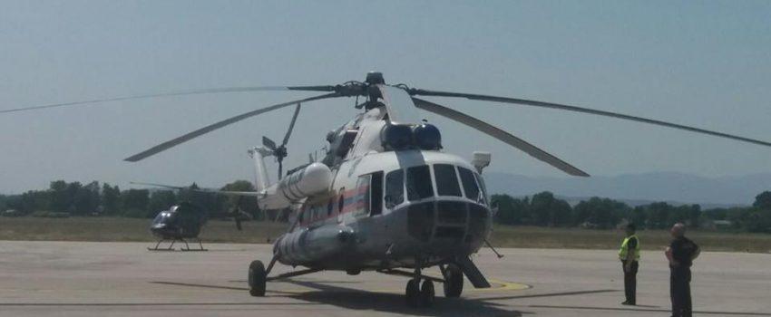 Prvi izveštaj upotrebe ruskog Mi-8 iz Niša: Sačuvana površina od nekoliko desetina hektara šume