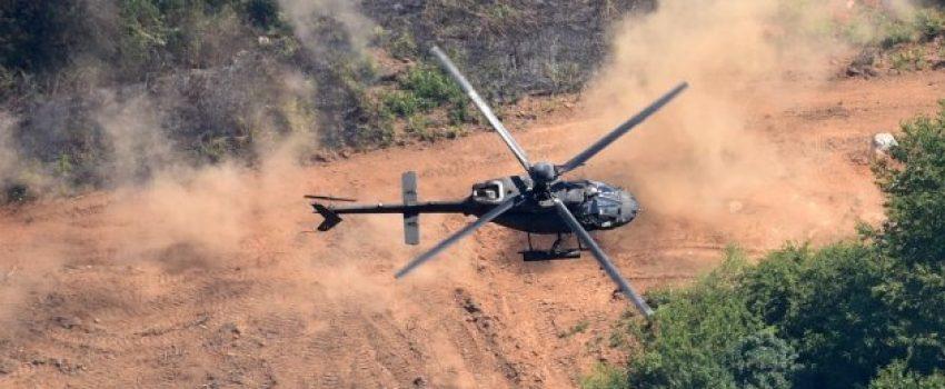 [VIDEO] Prva bojeva gađanja i raketiranja iz helikoptera Kiowa Warrior u Hrvatskoj