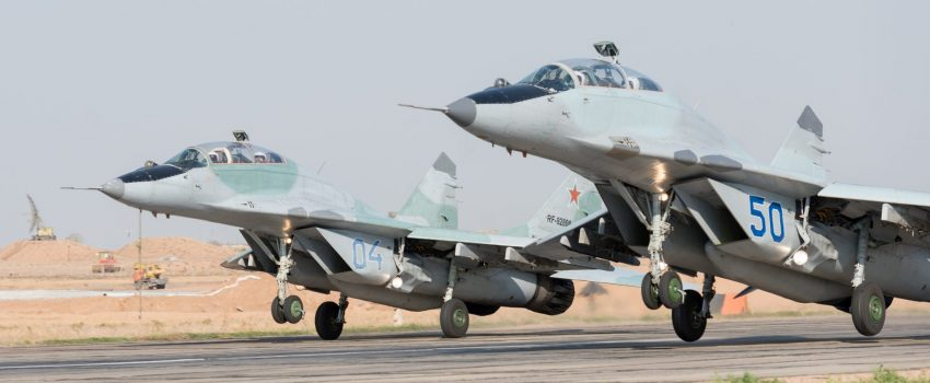 Sutra počinje BARS 2017: Prva dva MiG-a 29 sleću u Srbiju a njihovi piloti danas stigli u ruski Top Gan