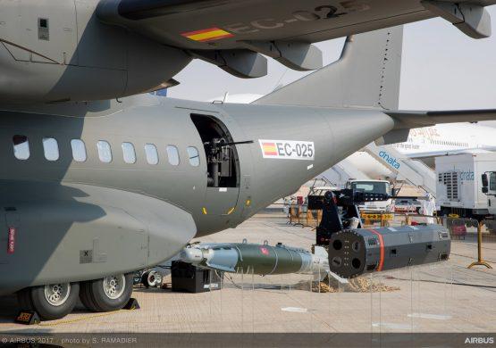 Erbas u Dubaiju prikazao novu naoružanu varijantu svog transportnog aviona C295