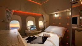 Dubai Airshow: Nova prva klasa Emirata – virtuelni prozori, Mercedes i Džeremi Klarkson