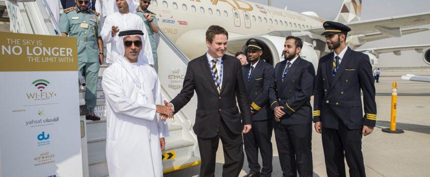 Dubai Airshow: Etihad testira internet u avionu brzine 50Mb/s