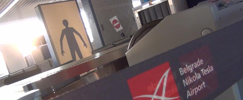 [VIDEO REPORTAŽA] Kako izgledaju novi skeneri za telo na Aerodromu Nikola Tesla