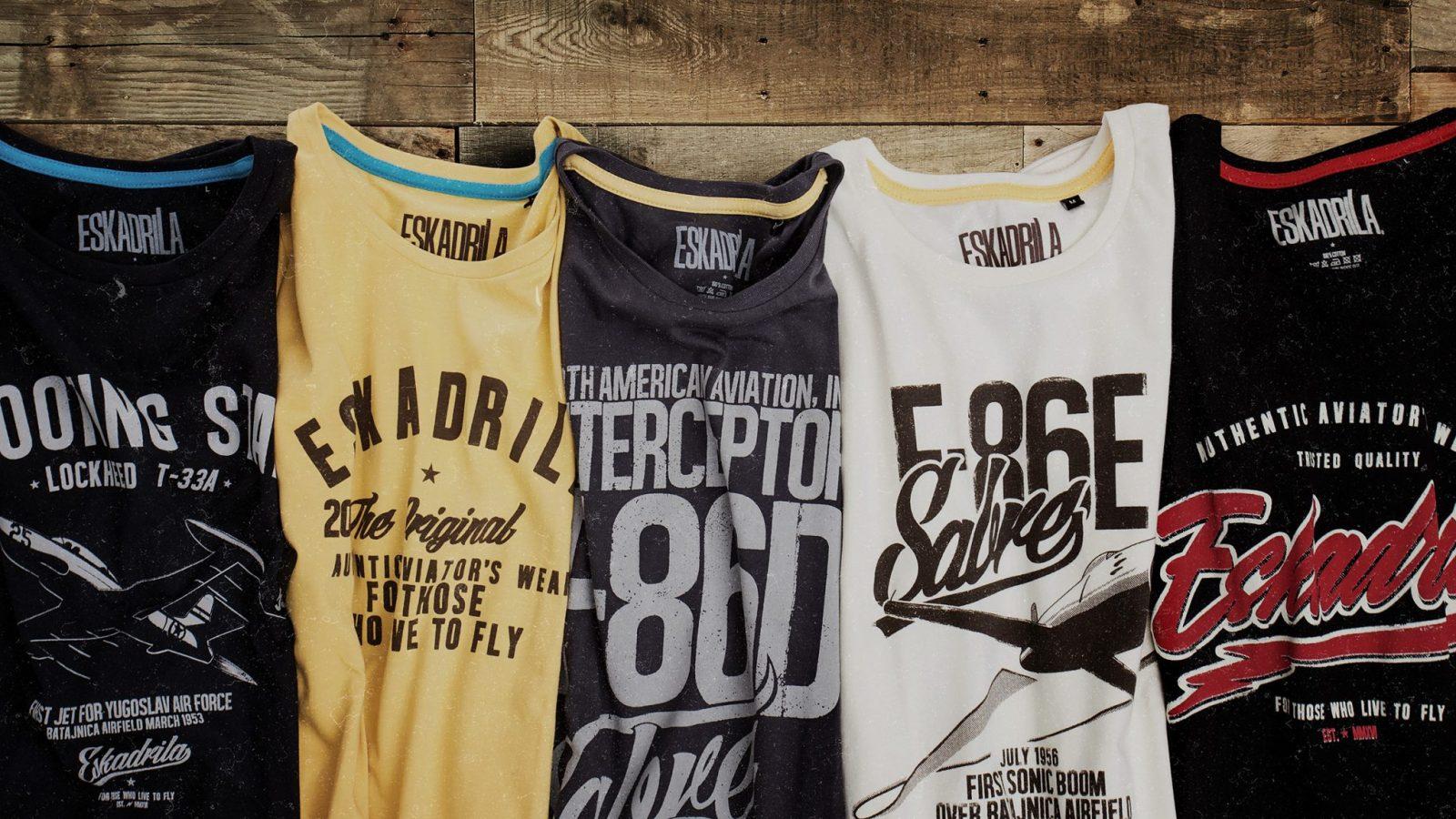Tango Six poklanja za Novu godinu – Eskadrila majice