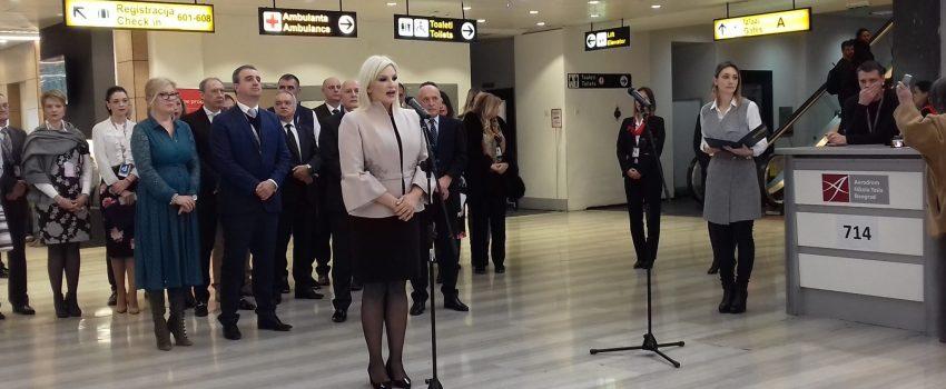 """Mihajlović: Koncesija """"Tesle"""" neće kočiti rad preduzeća """"Aerodromi Srbije""""; Plan za razvoj """"Morave"""" i dalje postoji"""